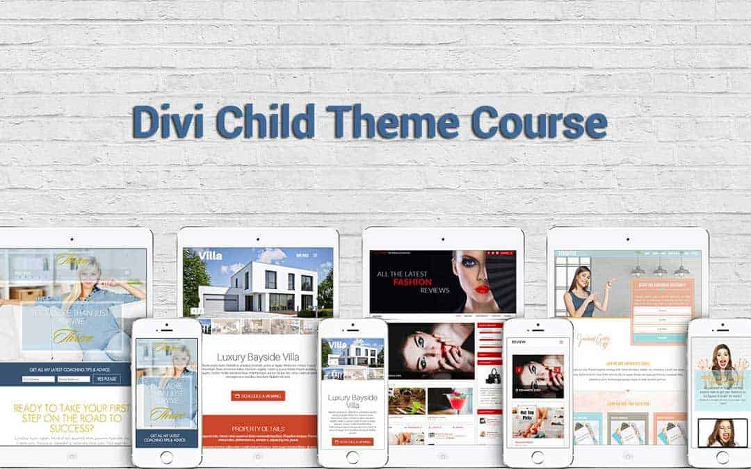 Divi Child Theme Course