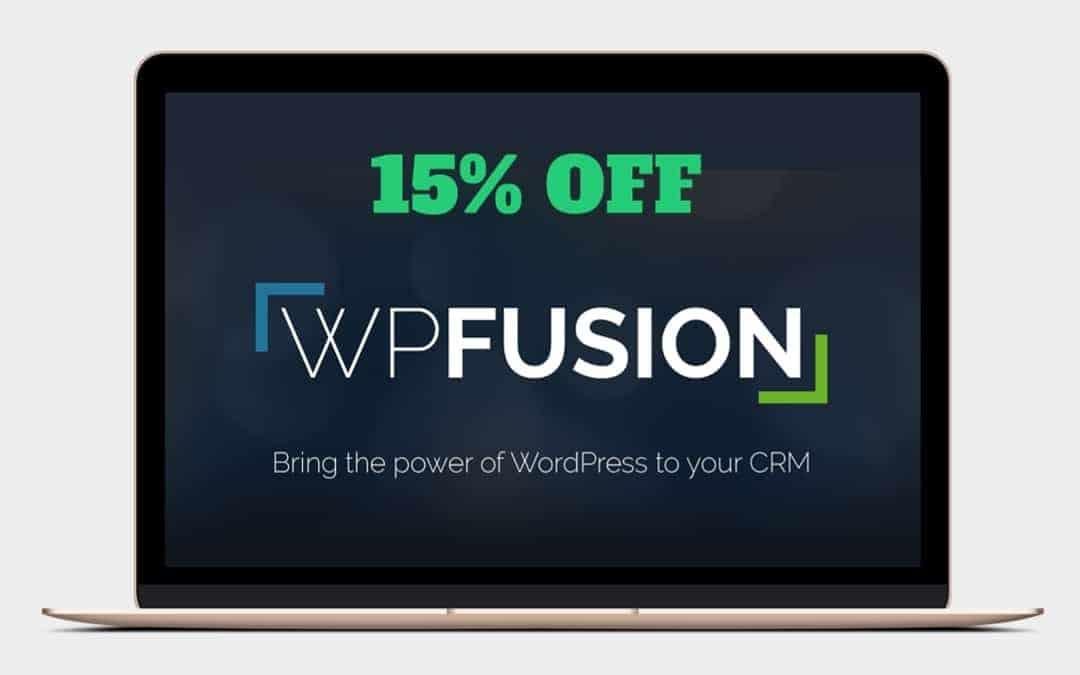 15% Off WP Fusion
