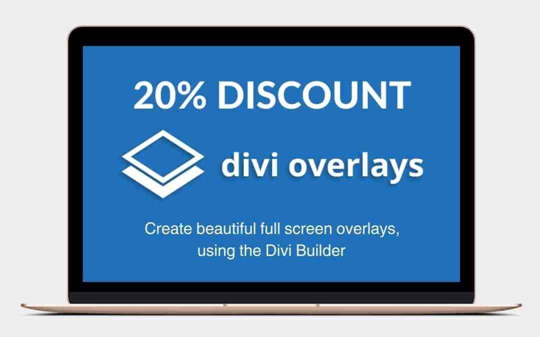 20% Off Divi Overlays