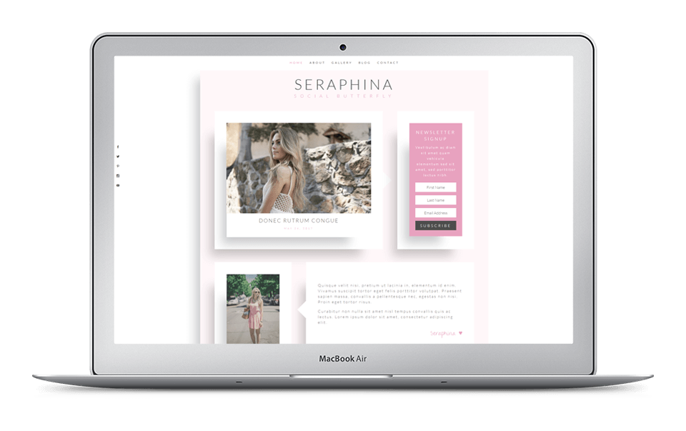 30% Off Seraphina Layout Pack