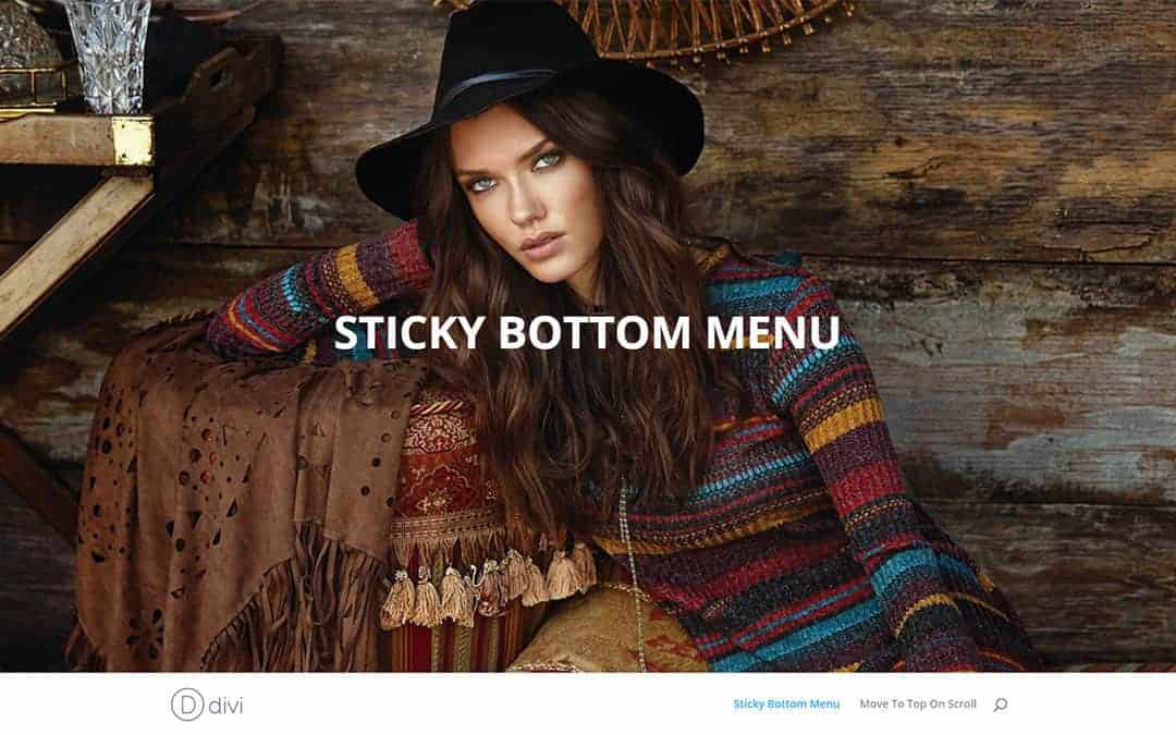 Week 49 – Bottom Sticky Menu Without a Plugin Tutorial