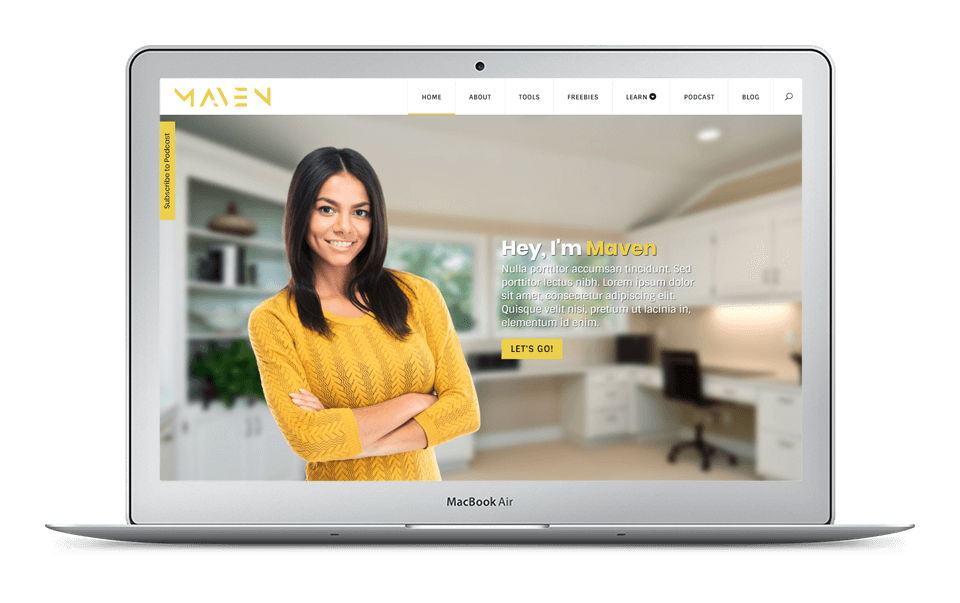 30% Off Maven Divi Child Theme