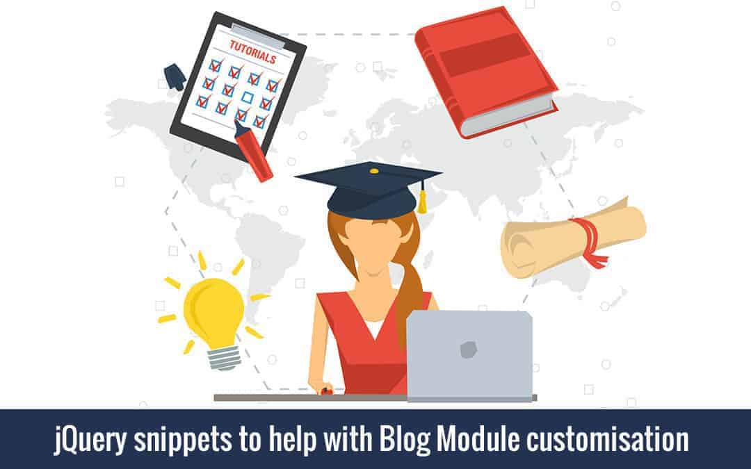 Week 64 – jQuery snippets to help with Blog Module customisation