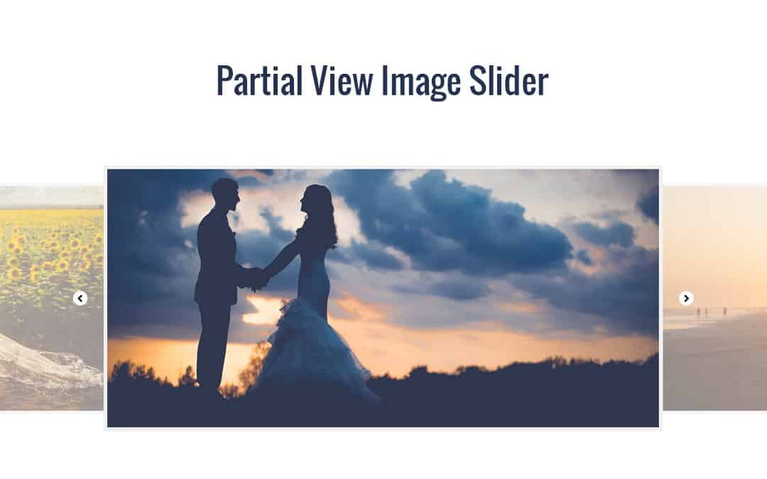 Week 99: Partial View Image Slider