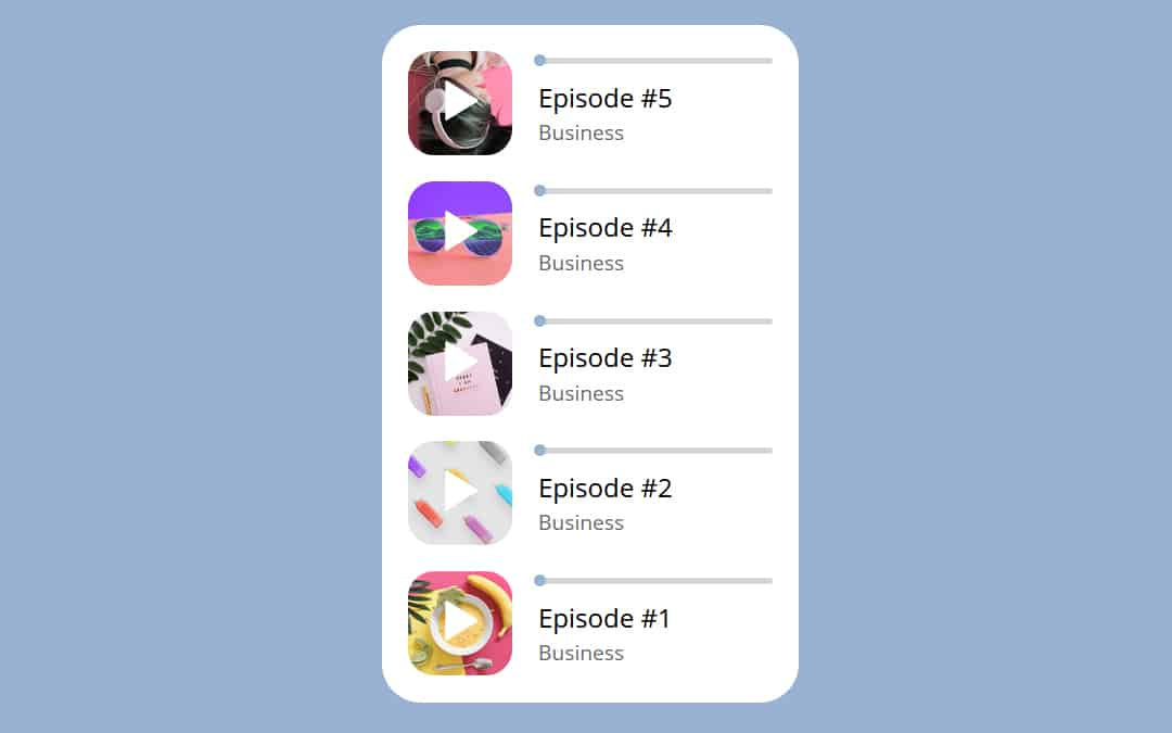 Week 207: Podcast Play Widget