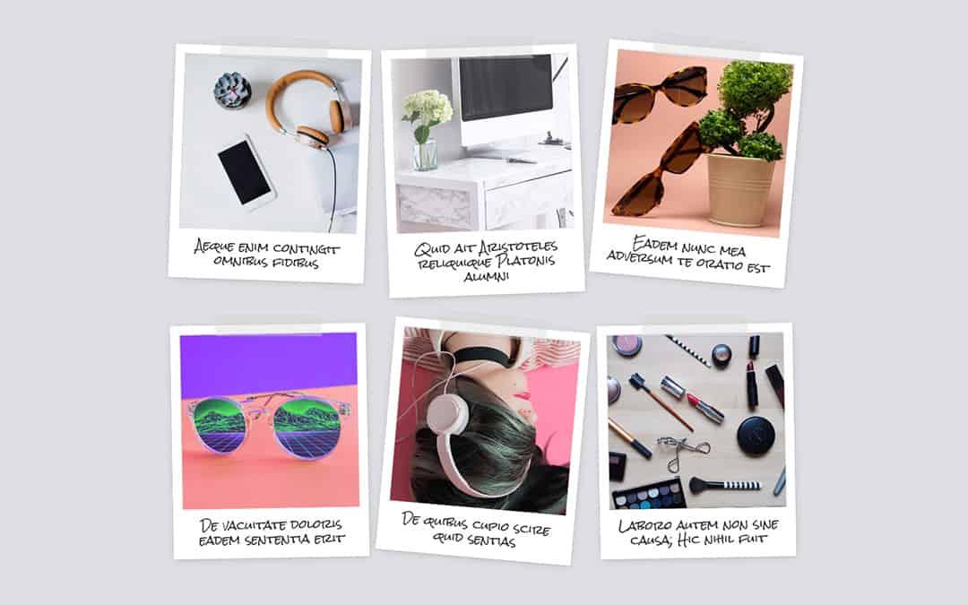 Week 221: Polaroid Blog Wall