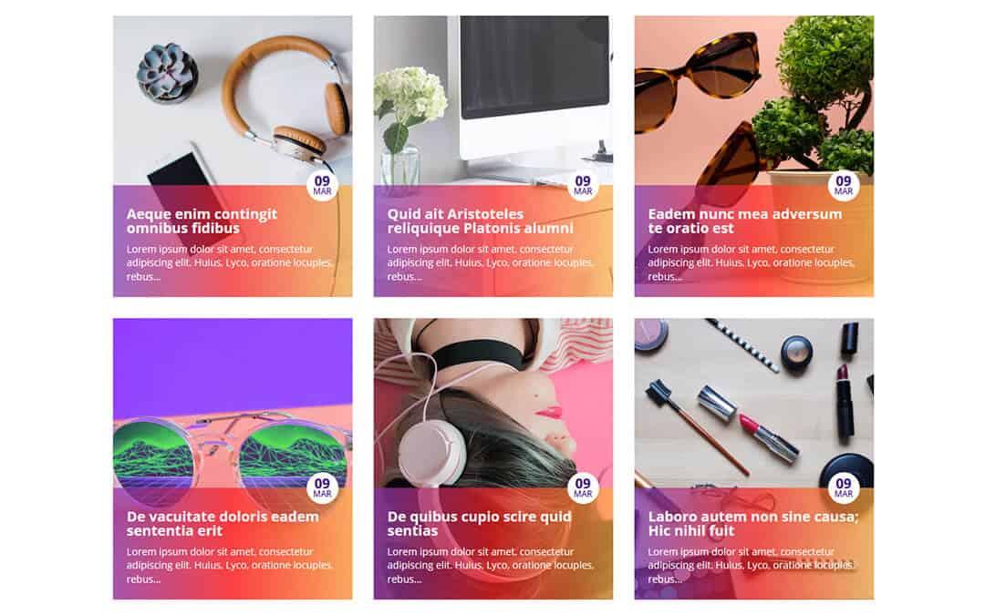 Week 230: Colourful Blog Layout